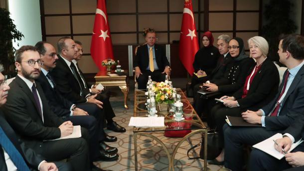 Presidenti Erdogan priti në takim Zëvendëskryeministrin e Zelandës së Re Winston Peters | TRT  Shqip