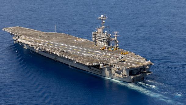 Avionmbajtësja USS Harry Truman niset për në rajonin e Mesdheut | TRT  Shqip