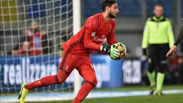 Donnarumma bloqué — Mercato AC Milan