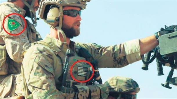 Des soldats am ricains portent sur leur uniforme l insigne for Que portent les juifs sur le front