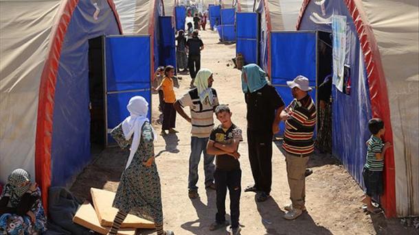 Под Мосулом влагере отравились 750 беженцев: двое погибли