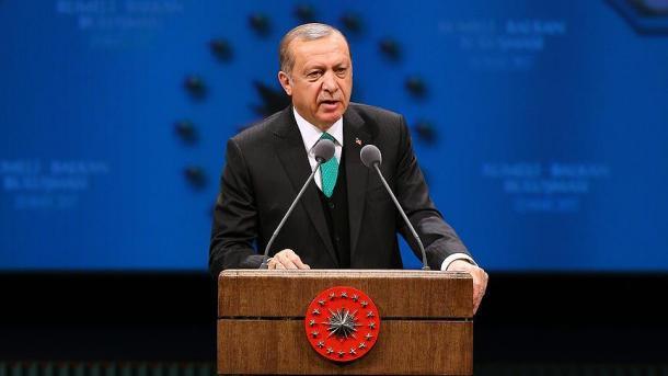 La réponse à l'Europe doit être le oui au référendum — Erdogan