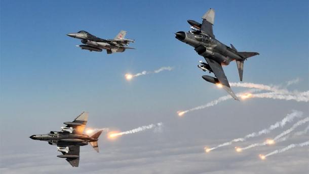 Avionët turq asgjësuan objektivat e PKK-së terroriste | TRT  Shqip