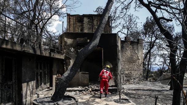 Greqi – Rritet në 81 numri i të vdekurve nga zjarret afër Athinës | TRT  Shqip