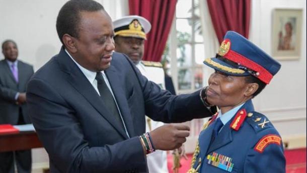 Mwanamke wa kwanza muislamu ngazi za juu katika jeshi la Kenya