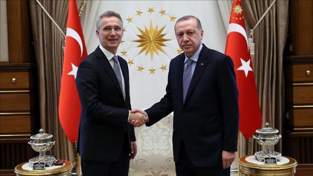 Stoltenberg u prit në takim nga Erdogan | TRT  Shqip
