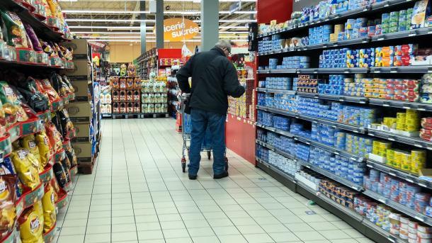 France: hausse des prix de l'alimentaire