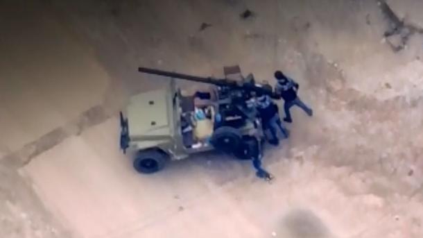 Les drones filment les attaques terroristes du YPG/PKK contre la Turquie   TRT  Français