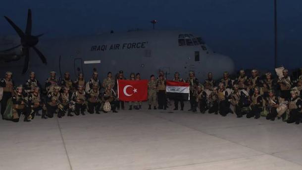 Stërvitja ushtarake turke në zonën kufitare në fazën e tretë, i bashkohen edhe trupat irakiane | TRT  Shqip