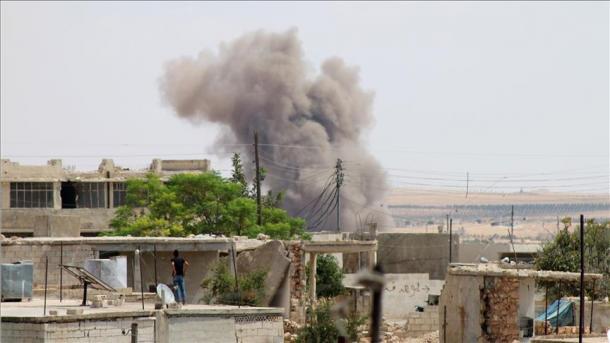 Siri – Të paktën 17 të plagosur në sulmet ajrore të regjimit në Idlib | TRT  Shqip