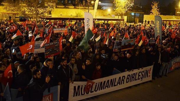 Turqia në protestë për Jerusalemin | TRT  Shqip