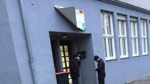 Gjermani - Simpatizantët e PKK-së sulmojnë xhaminë në Aachen   TRT  Shqip