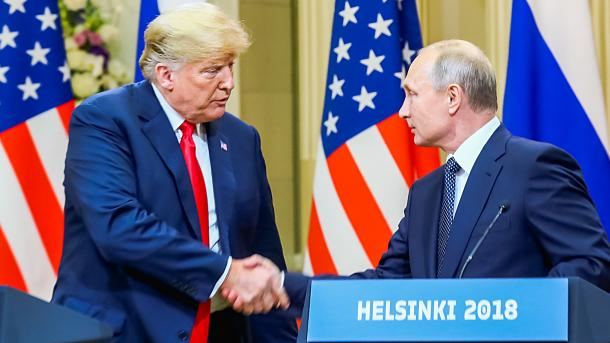 Trump convida Putin para Washington