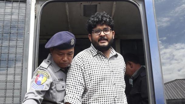 Birmania detiene a periodistas de Reuters, por poseer datos sensibles