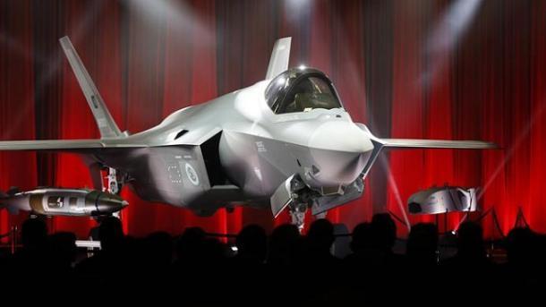Turqia mori në dorëzim avionin e parë F-35 | TRT  Shqip