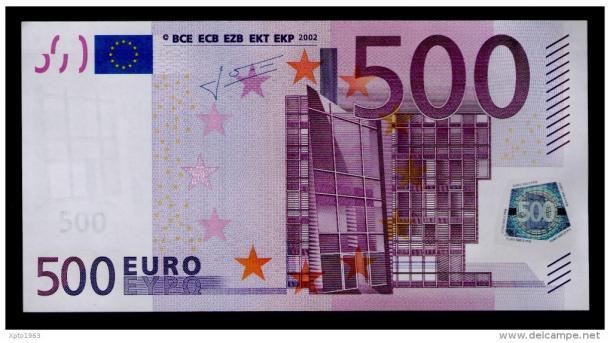 500 Euro Abgeschafft