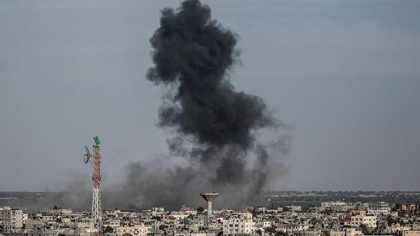 ВВС ЦАХАЛа нанесли удары поинфраструктуре ХАМАСа всекторе Газы