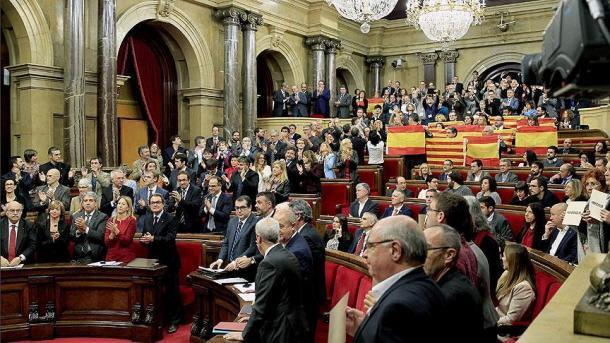 Tensión entre Madrid y Cataluña por el referendo independista