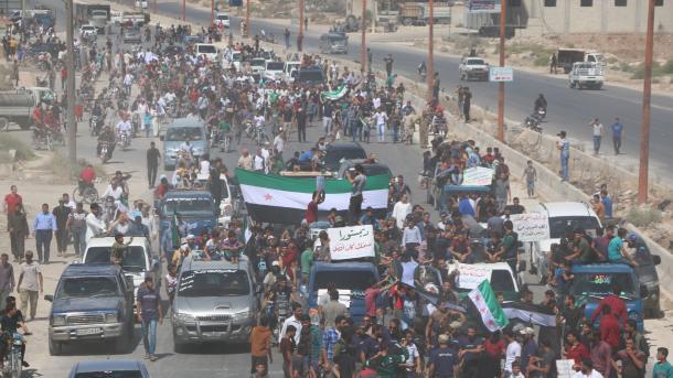 Franca, apel Rusisë dhe Turqisë për të ruajtur hapat e reduktimit të dhunës në Idlib   TRT  Shqip
