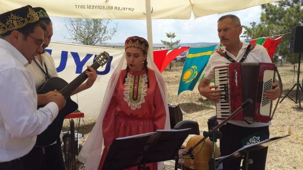 Kuruhöyük Osmaniye tatar awılında sabantuy 2018 | TRT  Tatarça