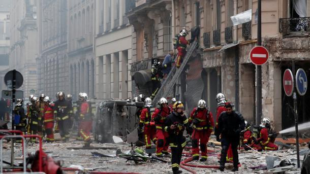 Shpërthimi në Paris – Rëndohet bilanci, 2 të vdekur dhe 47 plagosur | TRT  Shqip