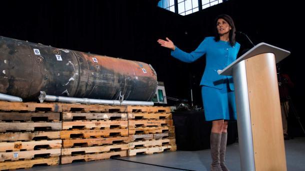 USA: Herbe Vorwürfe gegen den Iran