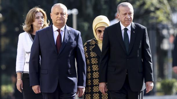 Presidenti Erdoan në Moldavi, nënshkruhen marrëveshje të rëndësishme   TRT  Shqip