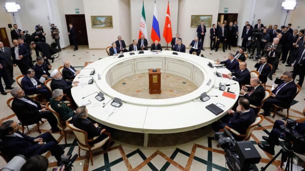 Samiti trepalësh në Soçi – Liderët të vendosur për t'iu kundërvënë agjendave separatiste në Siri   TRT  Shqip