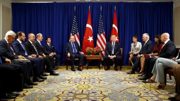 Erdogan takohet me Trump në Nju-Jork | TRT  Shqip