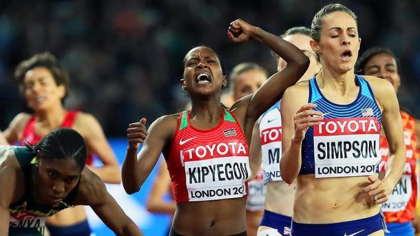 世界田径锦标赛女子1500米桂冠被肯尼亚运动员摘走 | 三昻体育