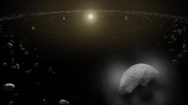 В Солнечной системе обнаружен новый объект