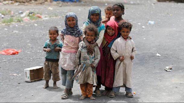 Kriza njerëzore në Jemen - 7 milionë fëmijë flenë pa ngrënë   TRT  Shqip