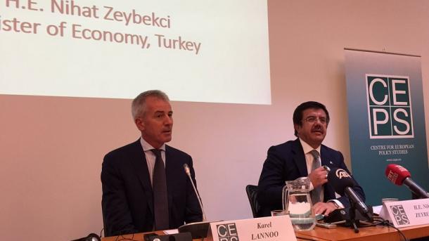 Lannoo: BE-ja dhe Turqia janë politikisht shumë të rëndësishme për njëra-tjetrën | TRT  Shqip