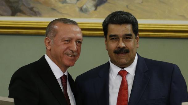 Herzlicher Empfang für Staatspräsident Erdoğan in Venezuela