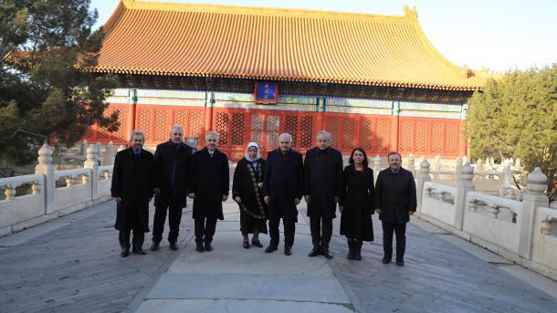 Kryeparlamentari Yildirim u takua me Kryeministrin e Kinës | TRT  Shqip