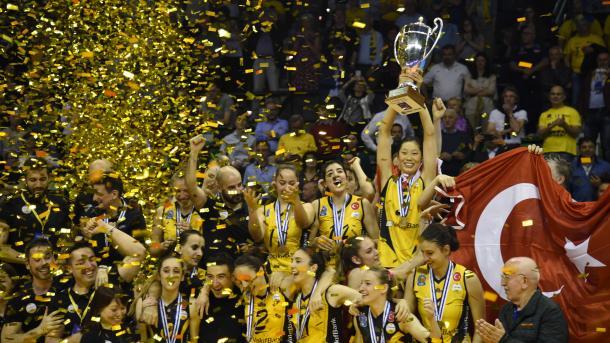 土耳其女排夺得欧洲女排世界杯冠军 | 三昻体育