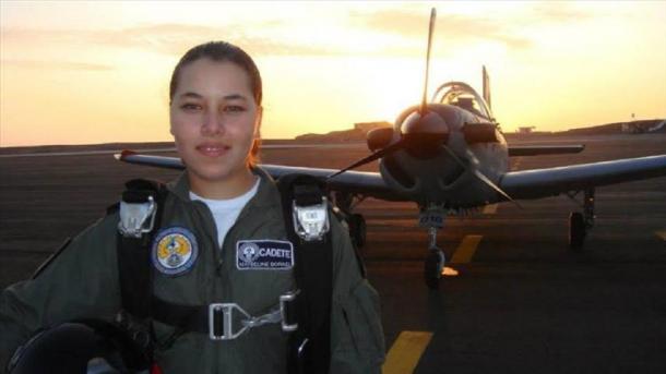Prva muslimanka vojni pilot u Latinskoj Americi