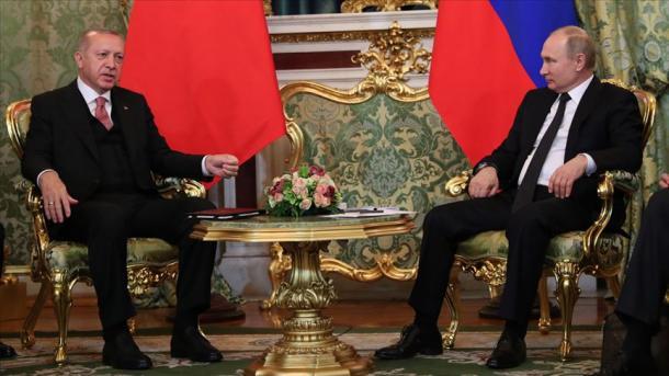 Bisedë telefonike Erdogan-Putin, në fokus zhvillimet në Idlib të Sirisë | TRT  Shqip