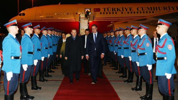 Erdogan doputovao u Beograd