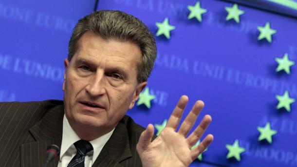 Oettinger will europäische Plastiksteuer