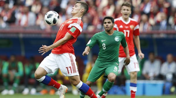 俄罗斯5-0大胜沙特赢得开门红 | 三昻体育投注