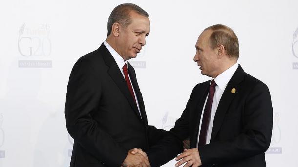 Putin und Erdogan reden über Lage in Idlib