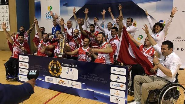 土耳其男篮在欧洲轮椅篮球赛中夺冠 | 三昻体育官网