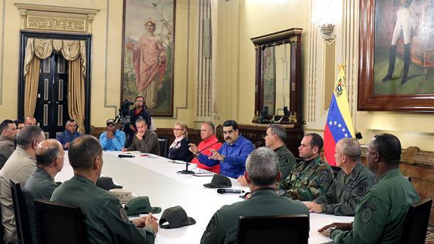 Maduro: Tentativa për grusht shtet nuk do të mbetet pa u ndëshkuar | TRT  Shqip