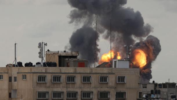 Mundo: Palestinos disparan 20 cohetes hacia Israel