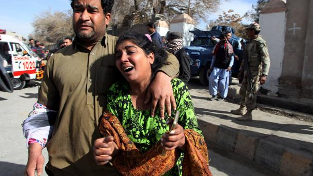 8 morts et 44 blessés dans l'attaque d'une église — Pakistan