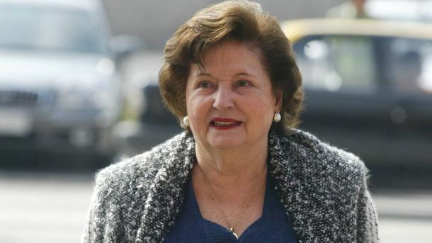 Lucía Hiriart padece depresión y demencia senil