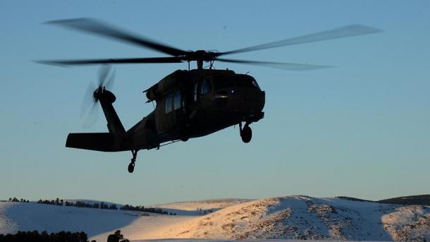 12 человек погибли в итоге падения полицейского вертолёта вТурции