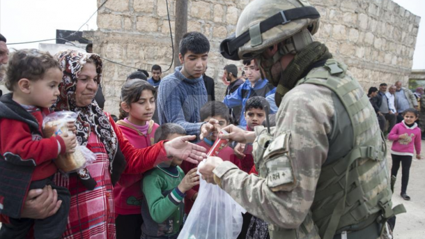 Bericht: Türkische Armee bringt auch Region Afrin unter Kontrolle