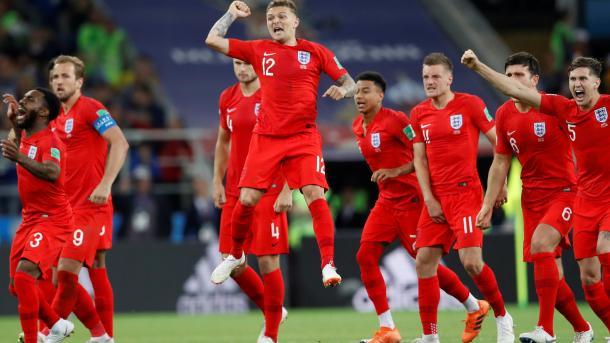 英国队进入2018世界杯四分之一决赛   三昻体育